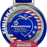 Peachtree Road Race badge